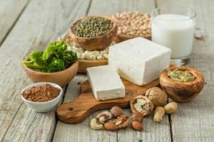 Nuts and tofu