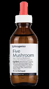 5 mushroom extract